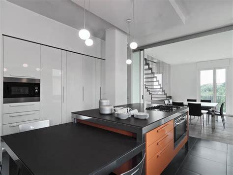 amenagement cuisine ilot central cuisine ouverte avec îlot central 58 sublimes modèles d