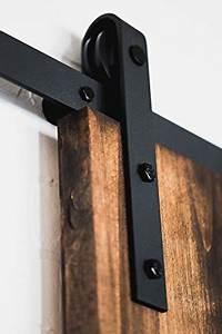 usa made 8 ft sliding wood barn door hardware kit artisan With barn door hardware usa