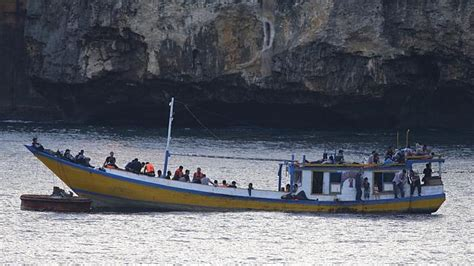 Boat People Tony Abbott by Tony Abbott Secures A Refugee Deal Herald Sun