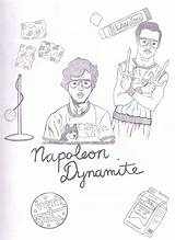 Dynamite Napoleon Drawing Drawings Pages Liger Coloring Slavery Getdrawings Template Sketch Paintingvalley sketch template