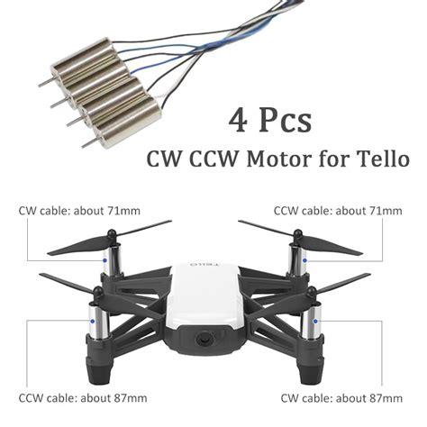 pcsset  dji tello clockwise motor  counterclockwise motor  dji tello cw ccw rc motor