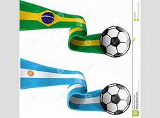 Argentina Vs Brazil Stock Photography Image 36294392