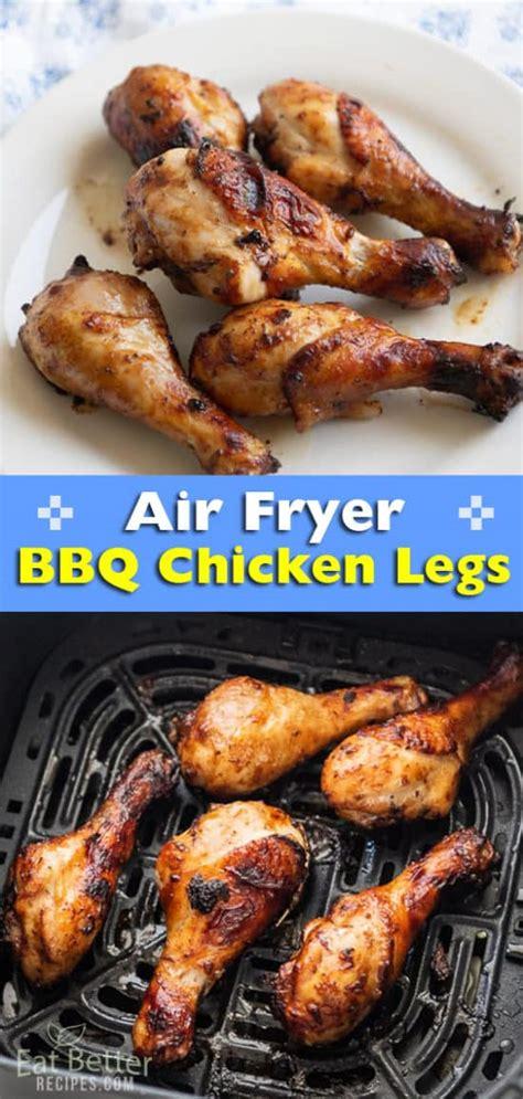 air chicken legs fryer bbq fried recipe sauce paleo keto