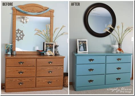 Laminate Dresser Makeover {with Homemade Chalk Paint