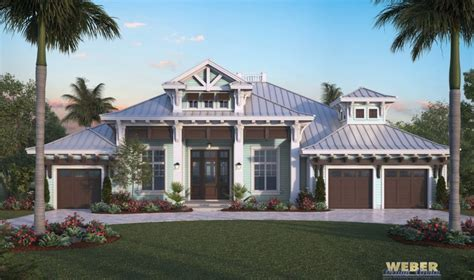 Harbor House Plan   Luxury Caribbean Beach Home, Outdoor