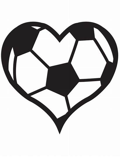Soccer Ball Heart Tattoo Flaming Temporary Tattoos