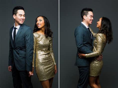 sequins stripes  studio  wedding blog wedding