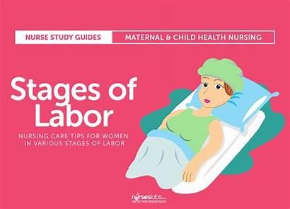 Labor Stages Nursing Maternal Child Care Active