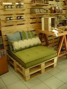 Palette En Bois Pas Cher : le fauteuil en palette est le favori incontest pour la ~ Dallasstarsshop.com Idées de Décoration