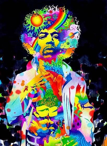 Hendrix Jimi Experienced Psychedelic Fink Callie Experience