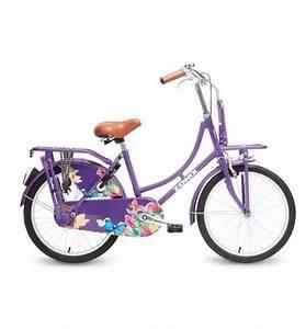 20 Zoll Fahrrad Körpergröße : 20 zoll hollandrad zonix lila blumen mit frontr ger ~ Kayakingforconservation.com Haus und Dekorationen