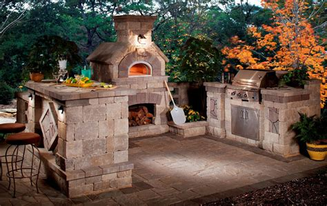 Bbq And Fireplace - 5 gorgeous outdoor rooms to enhance your backyard