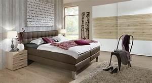 Schlafzimmer Komplett Mit Aufbauservice : schlafzimmer mit boxspringbett kleiderschrank la mancha ~ Bigdaddyawards.com Haus und Dekorationen