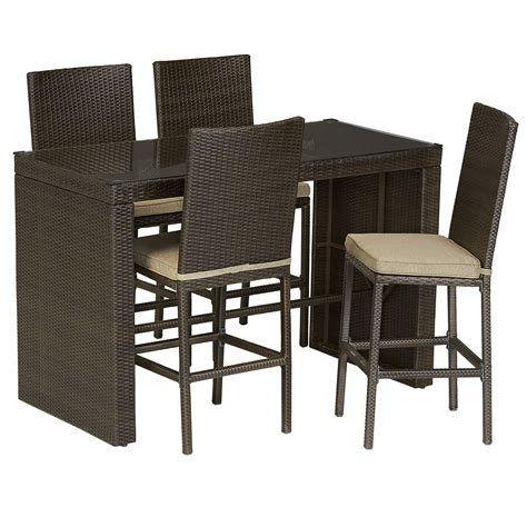 ty pennington parkside 5pc high dining set outdoor