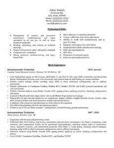 water quality technician resume click here to this instrumentation technician resume template http www