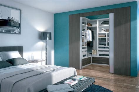 plan chambre salle de bain dressing intégré un design personnalisé en accord avec