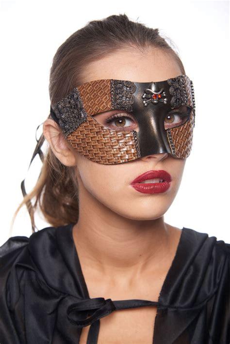 steampunk cowgirl masquerade mask