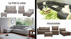 Canapé Chauffeuse Modulable : canap s modulables canap inn ~ Teatrodelosmanantiales.com Idées de Décoration