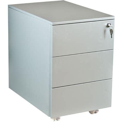 caissons bureau caisson métallique de bureau 3 tiroirs kalisto negostock