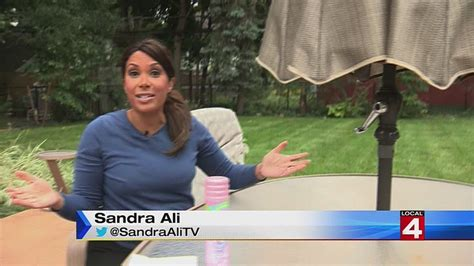 sandra ali helps  pack  summer   fall arrives