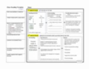 close reading planning template guide common core by keep With close reading planning template