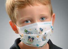 face masks  designed  kids smaller faces
