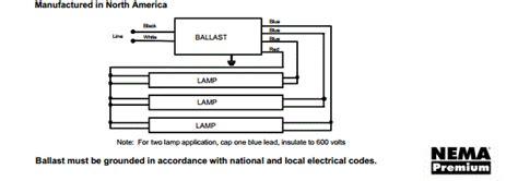 universal lighting technologies triad b332iunvhp a led ready 3 l f32t8 electronic fluorescent