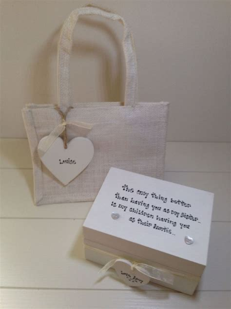 shabby chic gift shop shabby personalised chic gift set special sister best sis any names wording