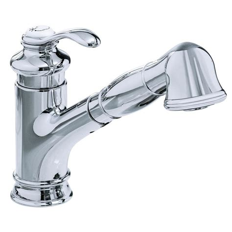 kitchen faucets with pull out sprayer kohler single handle pull out sprayer kitchen faucet in
