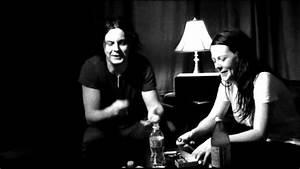 Jack White urges Meg to speak louder - YouTube