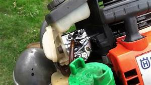 How To Husqvarna Weed Wacker Carburetor Fix