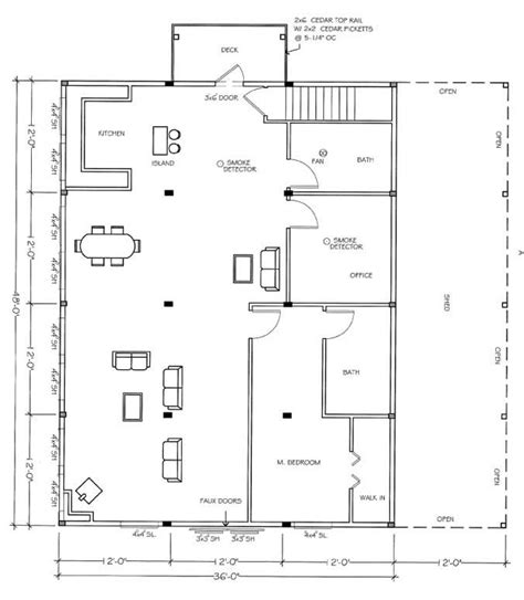 shop with living quarters floor plans barns with living quarters plans studio design