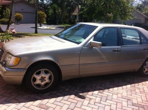 Find Used 1997 Mercedes S320 Less Than 75k Miles Runs