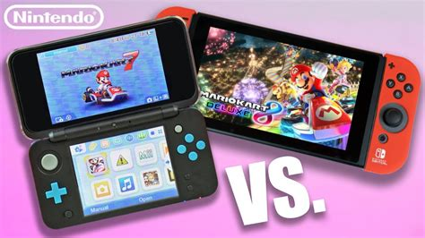 New Nintendo 2ds Xl Vs Nintendo Switch