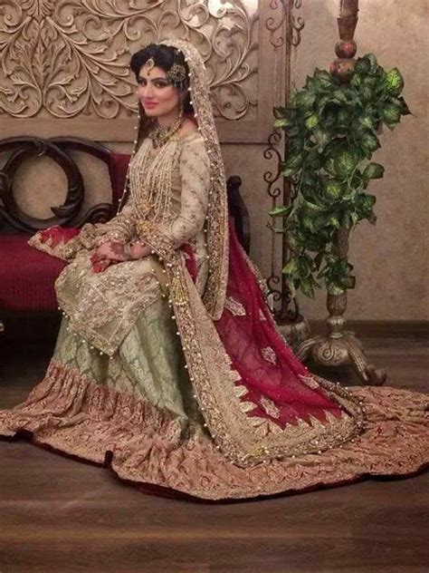 latest pakistani bridal dresses   stylo planet