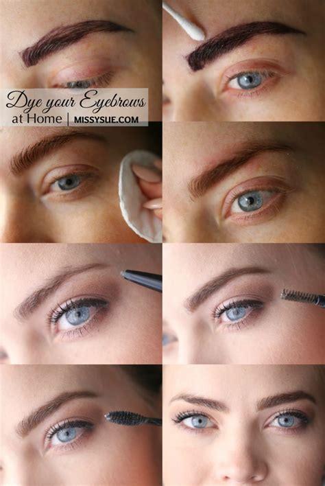 dye eyebrows ideas  pinterest dyed eyebrows