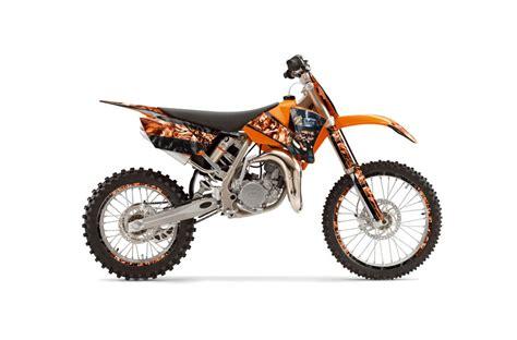 mad for motocross ktm sx 105 dirt bike graphics mad hatter black orange