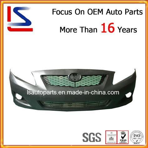 car parts usa china auto parts front bumper for toyota corolla 2007 2010 usa model china front bumper