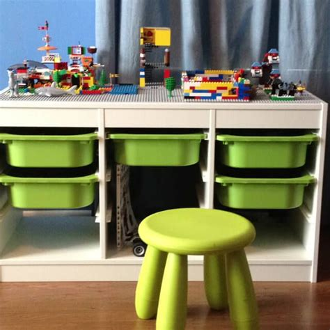 Ikea Hack Kinderzimmer Lego by Lego Tables Ikea Hacks Storage Legotisch Lego Tisch
