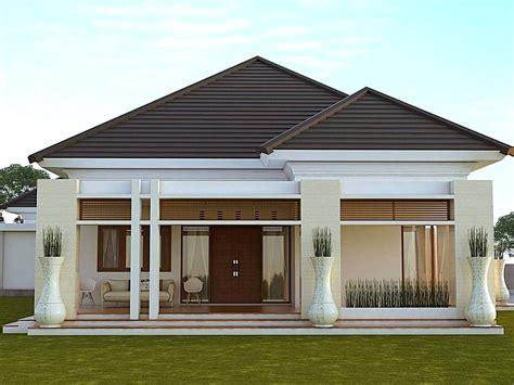 desain rumah minimalis type  modern tampak depan