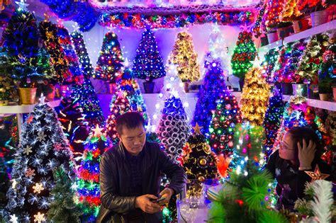 yiwu  chinese city   christmas  day