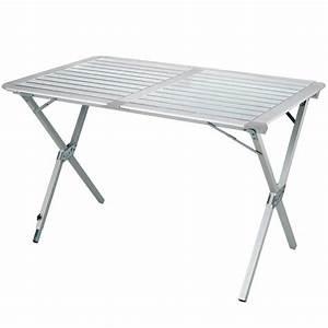 Table De Camping Gifi : table pliante 6 personnes en alu ~ Melissatoandfro.com Idées de Décoration