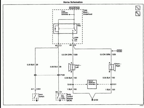 Horn Wiring Diagram by Chevy Horn Wiring Diagram Wiring Forums
