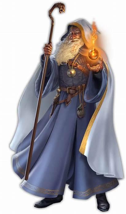 Wizard Fantasy Character Rpg Human Portraits Robes