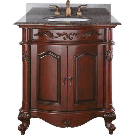 cherry bathroom vanity avanity provence 31 quot single bathroom vanity antique