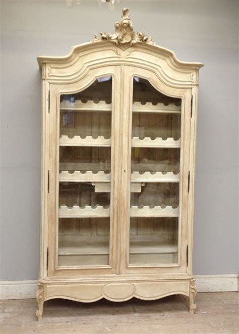 french armoire display cabinet antique french armoire wine display storage restaurant