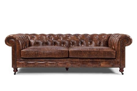 canapé chesterfield the kensington chesterfield tufted sofa and