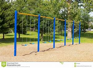 School Swings Stock Photography - Image: 815042
