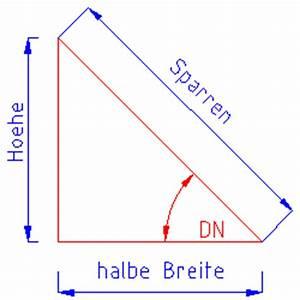 Dachschräge Berechnen Grad : anwendung der winkelfunktion pythagoras dachdeckerwiki ~ Themetempest.com Abrechnung
