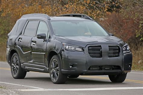 2019 Subaru Ascent Teaser Shows Second And Thirdrow